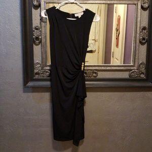 Michael kors black sleeveless dress